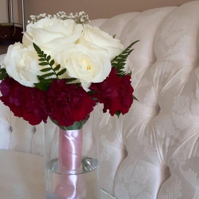 Todays engagement bouquet