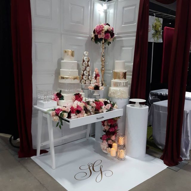 Heading back to the wedding show to see elegantoccasionsbysg andhellip